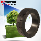 Alta calidad Presionar-en los neumáticos de los neumáticos sólidos (21*8*15)