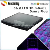 Infini LED Dance Floor du club 3D de noce
