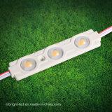 Luz del módulo de la inyección del alto brillo 12V 3PCS LED del precio al por mayor