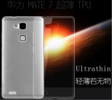 Slim TPU Crystal Clear Case para Huawei Ascend Mate 7