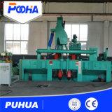 Stahlstreifen-Rad-Granaliengebläse-Maschinen-Preis zu den ausländischen Absatzmärkten