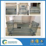 Las jaulas de malla de paletas de contenedores para Depósito de almacenamiento