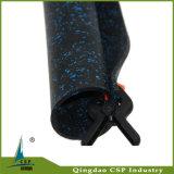 Цветастая резиновый циновка для гимнастики