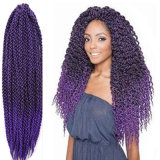 Regina Hair Products 3D Cubic Twist Split Braids Style Ombre Synthetic Crochet Hair Freetress senegalese Twist Hair Extensions