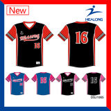 Sublimation-Jugend Sports Uniform-Verein-Baseball-Uniform-Hemden