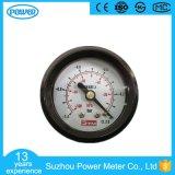 40mmの工場価格の高品質の真空のプラスチック圧力計の圧力計
