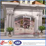 Trabajos durables prácticos ornamentales/decorativos de la puerta del hierro labrado (DH-gate002)