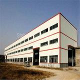 Edificio metálico portable del metal del acero estructural con el palmo de la larga vida