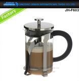 Cristalleria della pressa del francese del blocco per grafici dell'acciaio inossidabile per tè, creatore di caffè