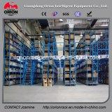 Estante del entresuelo del estante del almacén de la estructura de acero