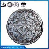 En124 D400の中国の鋳鉄の鋳物場の延性がある鉄のマンホール