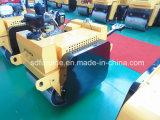 Rodillo vibratorio de la rueda de acero del tambor del doble de la alta calidad de Furd mini (FYL-S600C)
