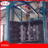 Grande brillamento di sabbia della struttura d'acciaio Abrator di lucidatura