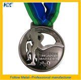 Medaglia con la decorazione corrente della corsa, regalo, giocattolo di sport