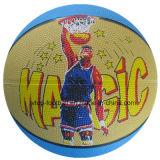 Juguetes de goma del baloncesto del diseño complejo