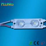 Chip del modulo 2 LED dell'iniezione con l'obiettivo SMD bianco LED