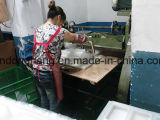 Máquina de perfuração manual das bandejas plásticas