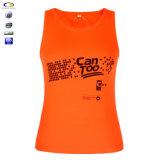 Rennläufer rückseitiger Dri passender Sport-Ineinander greifen-Trägershirt-Großverkauf