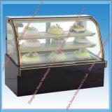 Showcase do refrigerador do bolo do indicador para a venda