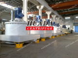 Top Mounted MotorのPaut Scraper Bottom Discharge Centrifuge Machine