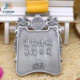 Медаль спортов бронзового изготовленный на заказ медали марафона пожалования идущее