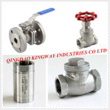 2-PC Ball Valve met Mounting PAD ISO5211, 304/316