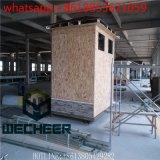 Casa pré-fabricada da caixa de sentinela móvel de aço leve de Struture para a venda quente