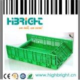 Складная пластичная клеть хранения молока для ферм