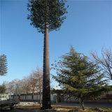 a quente de 5-50m galvanizados Media-Acenam a torre Telecom do aço Q345
