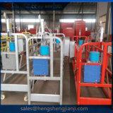 청결한 유리를 위한 중단된 곤돌라 플래트홈 기계
