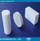 Чисто белый тефлон штанга отлитая в форму PTFE