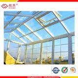 Feuille 100% solide compacte de polycarbonate de Lexan 1.8mm pour la toiture de serre chaude