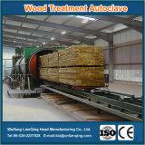 Autoclave en bois de traitement pour le traitement en bois préservatif