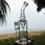 De rokende Waterpijpen van het Glas van het Ontwerp van de Zandloper van de Tijd Prachtige (S-GB-266)