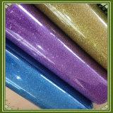 Feuilles colorées de vinyle de transfert de scintillement