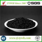 Charbon actif cylindrique à base de charbon