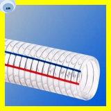 Alta calidad manguito de 1/4 PVC de la pulgada a de 8 pulgadas para continuar el petróleo o el agua