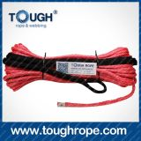 Dyneema Winch Rope, Tow Rope, Synthetic Winch Rope con Eye Loop, Thimble, Hook, Sleeve