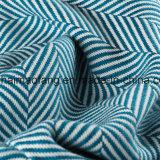 Manta pura tejida del algodón