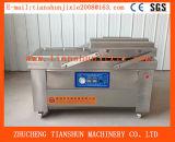 Empacotador do vácuo de Machine&Commercial do vácuo da câmara dobro automática cheia ou bloco de vácuo de empacotamento Dz-800