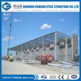Edificio galvanizado del almacén del marco de acero de la INMERSIÓN caliente