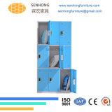 Kast de van uitstekende kwaliteit van het Staal van de Garderobe van 9 Deuren voor het Gebruik van de Opslag