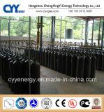 cilindro de gas de aluminio de alta presión del dióxido de carbono del argón del oxígeno del nitrógeno del acetileno de 40L 50L