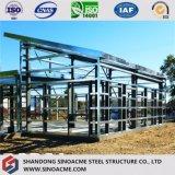 Edificio comercial de la construcción de acero prefabricada para el almacén conveniente