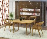 ハイエンド純木表の一定のレストランの家具(FOH-BCA64)