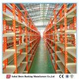 Prateleiras de montagem de parede no sistema da China para planos de construção de armazém