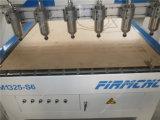 6つのヘッドが付いている木製CNCの彫版そして打抜き機FM-1325および高精度
