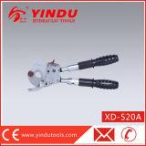 CuAlのラチェットケーブルロープのカッター(XD-520A)