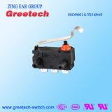 China-Lieferant des Mikroschalters mit 0.1A 250V IP67
