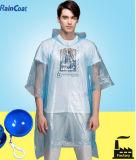 Выдвиженческая модная устранимая оптовая продажа плащпалаты дождя плаща популярная в Европ
